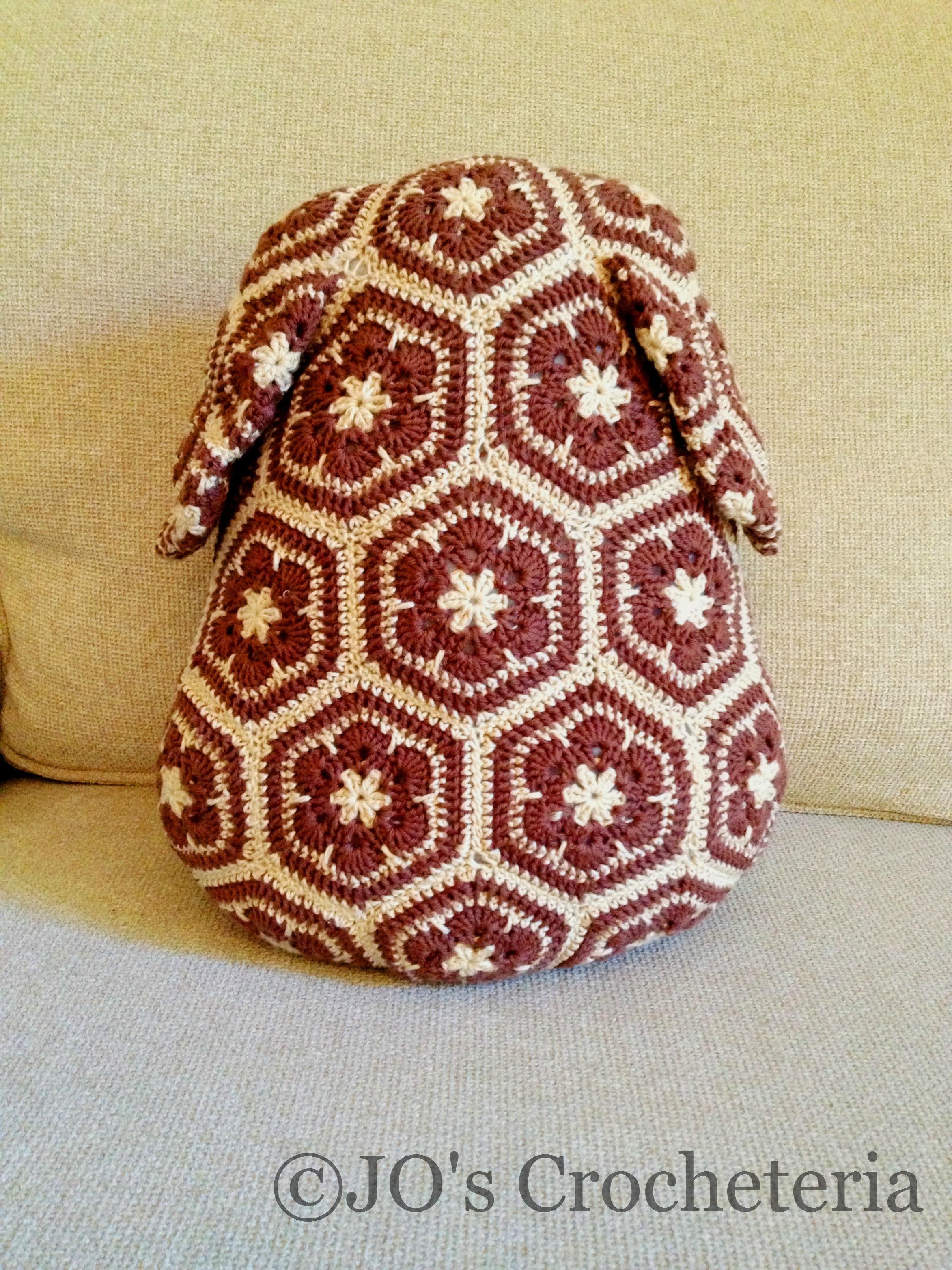 African Flower Written Crochet Pattern : African flower dog crochet pattern picture 4.1 JOs ...
